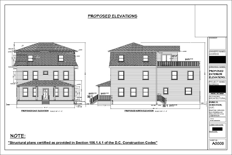 TONY PROPOSED ELEVATIONS 1