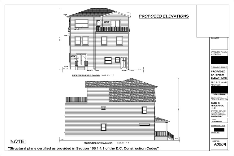 TONY PROPOSED ELEVATIONS 2